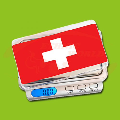 On Balance Swiss Flag Tray