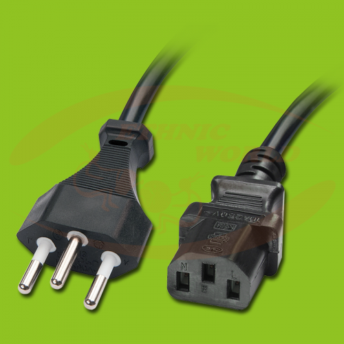 Power Cable with CH Plug - IEC (F)