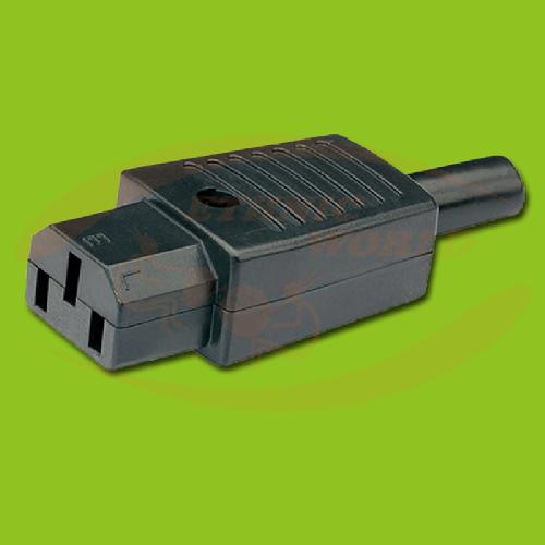 IEC Electric Plug Female (no cable)