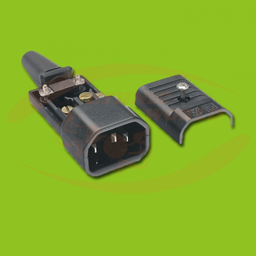 IEC Electric Plug Male (no cable)