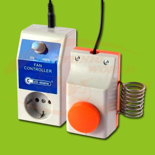 Cli-Mate Fan Controller 4 Amp
