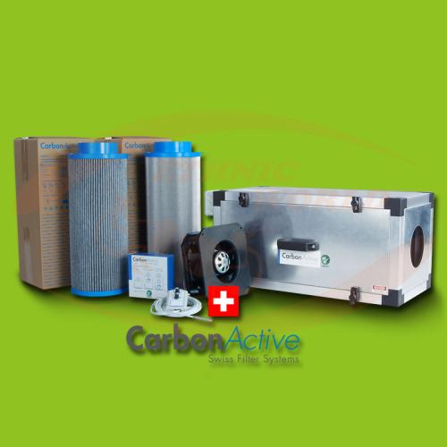 EC Inline Filter Unit 200 mm 800 m³/h