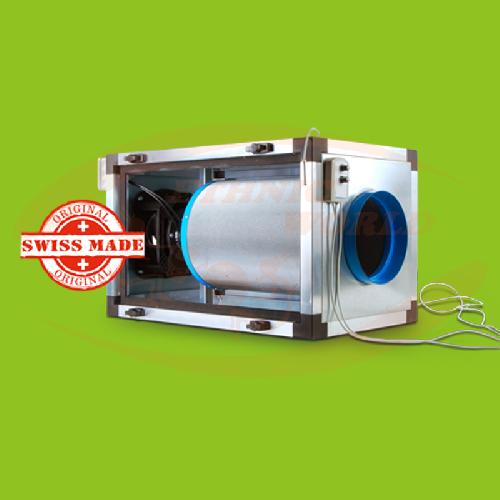 EC Inline Filter Unit 125 mm 500 m³/h