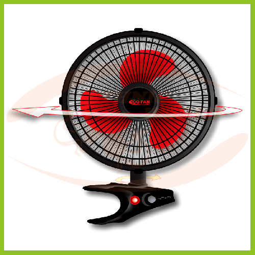 AS Clip Fan Eco Oscillating