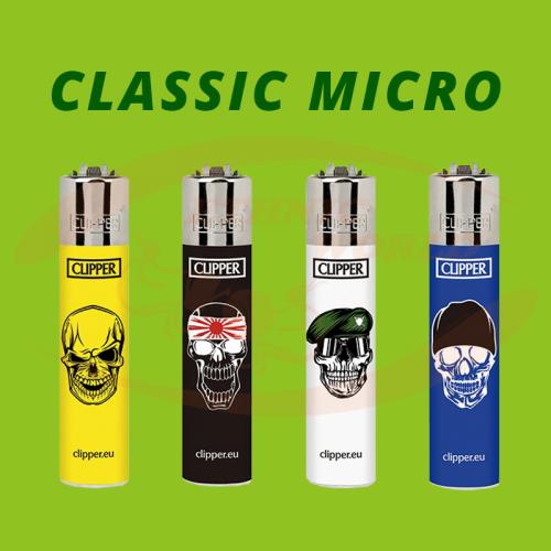 Clipper MICRO - Lighter Skulls 4