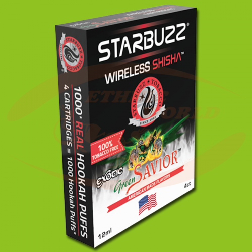 Starbuzz Wireless Shisha Green Savior