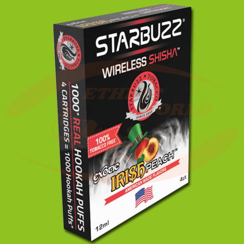 Starbuzz Wireless Shisha Irish Peach