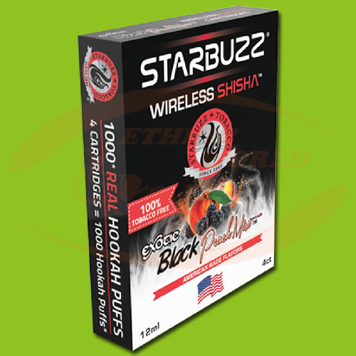 Starbuzz Wireless Shisha Black Peach Mist