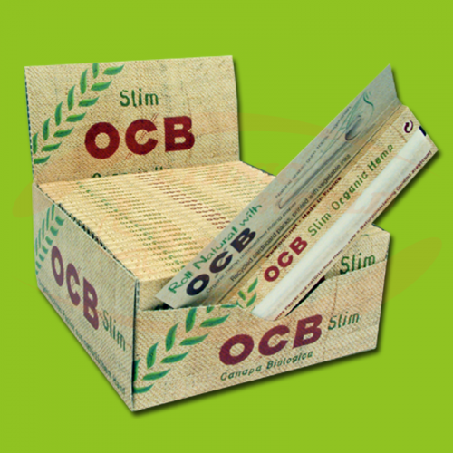 OCB Organic Hemp Slim (Organic, Long)