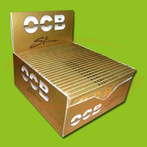 OCB Premium Oro Slim (Gold, Long)