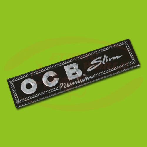 OCB Premium Slim (Black, Long)