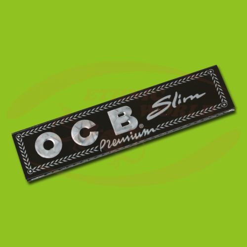 OCB Premium Slim (Black, Long)