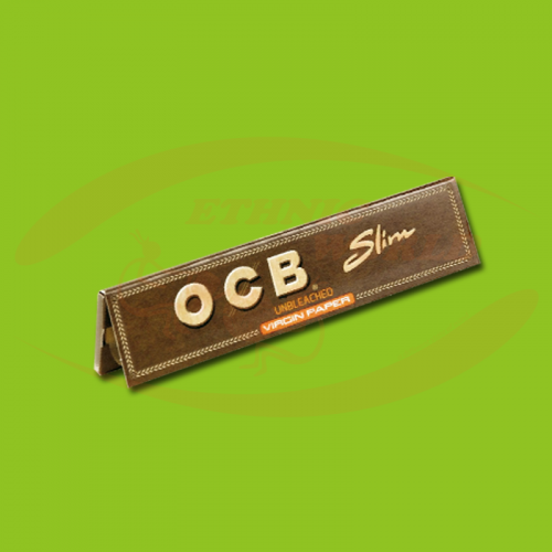 OCB Virgin Slim (Brown, Long)