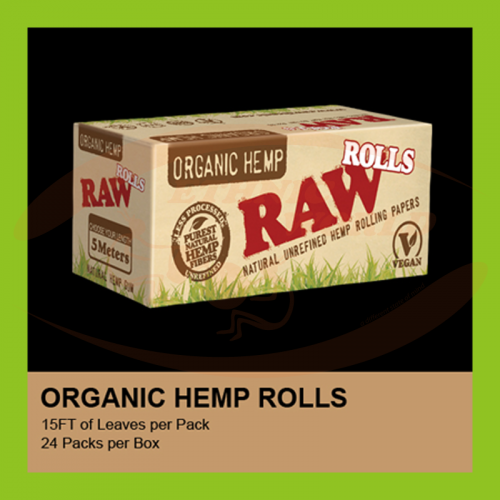 Raw Organic Slim Rolls