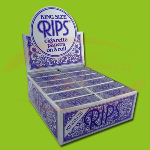 Rips Blue Kingsize Rolls