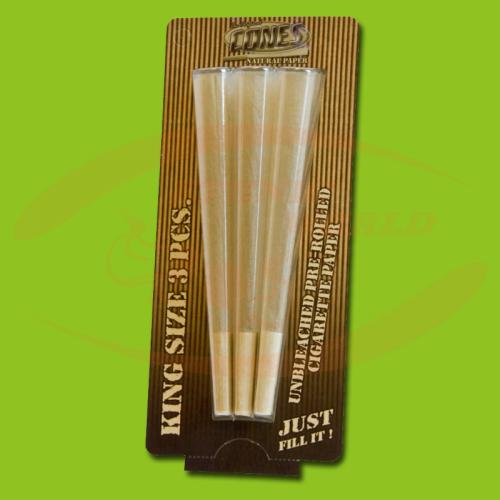 Cones 11 cm Natural (3)