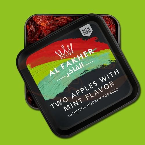 Al Fakher 2 Apples & Mint