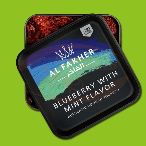 Al Fakher Blueberry & Mint