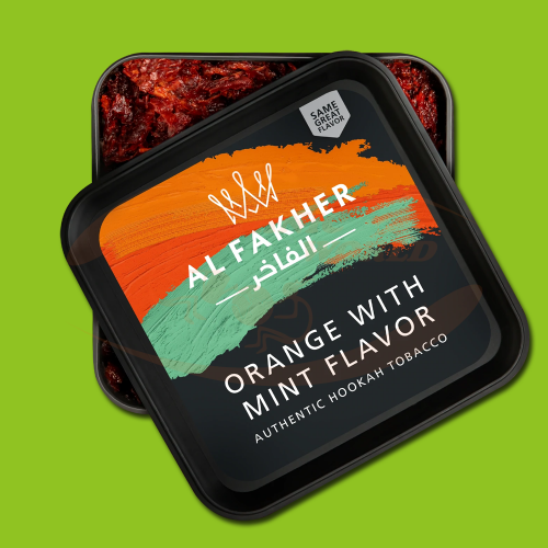 Al Fakher Orange & Mint