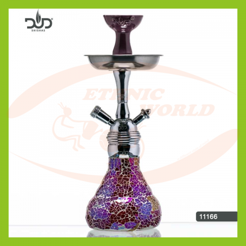 DUD Shisha Mosaic Glasswork Purple (11166)