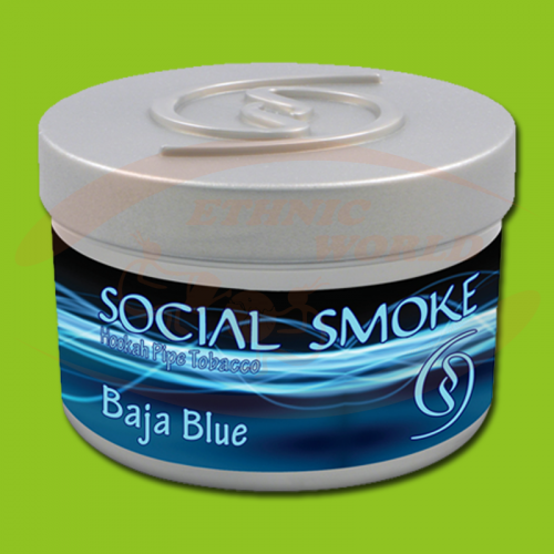 Social Smoke Baja Blue