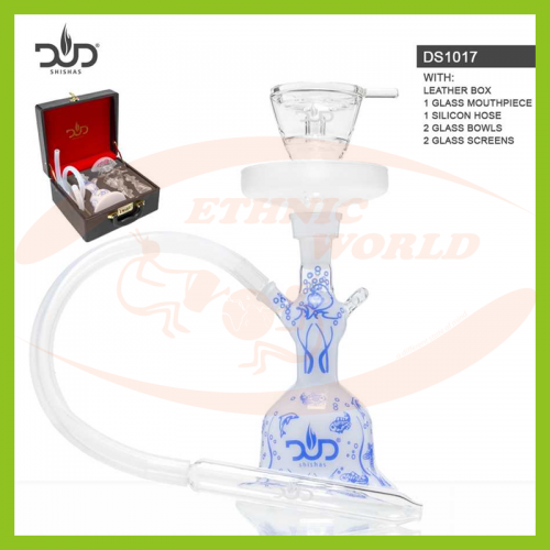 Glass Shisha Dud Aquarium - Leather Case