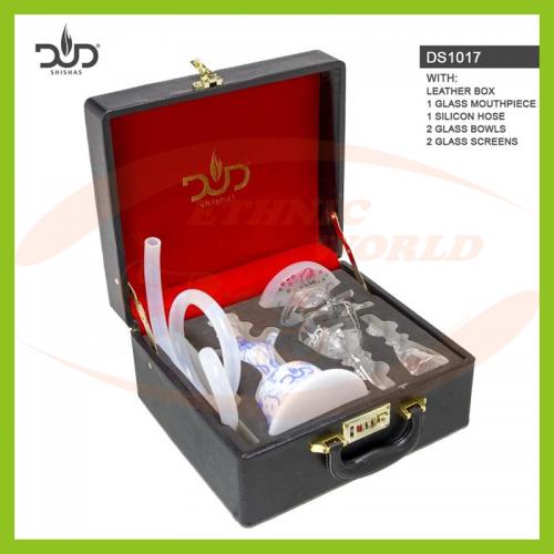 Glass Shisha Dud Aquarium - Leather Case