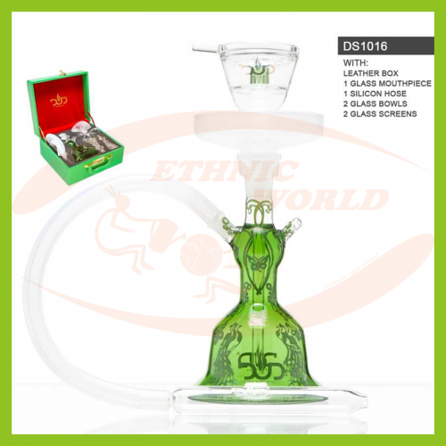 Glass Shisha Dud Butterfly Effect - Leather Case