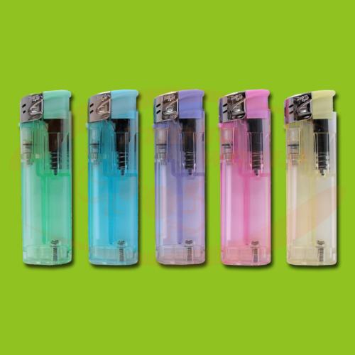DR - Feuerzeug Electronic Maxi Transparent
