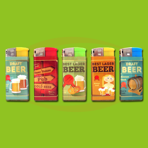 DR - Lighter Electronic Draft Beer