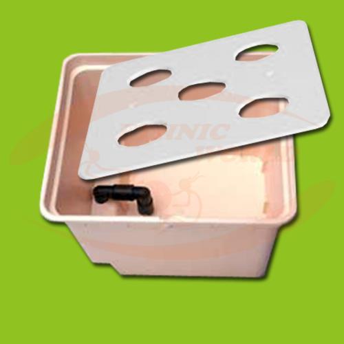 GHE Dutch Pot Aero - Pot, Pipe & Plate