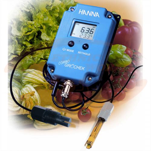 Hanna Gro chek Combo pH/EC&TDS/TEMP (HI 991404-02)