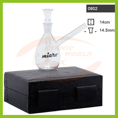 Box Glass Bong (0802)