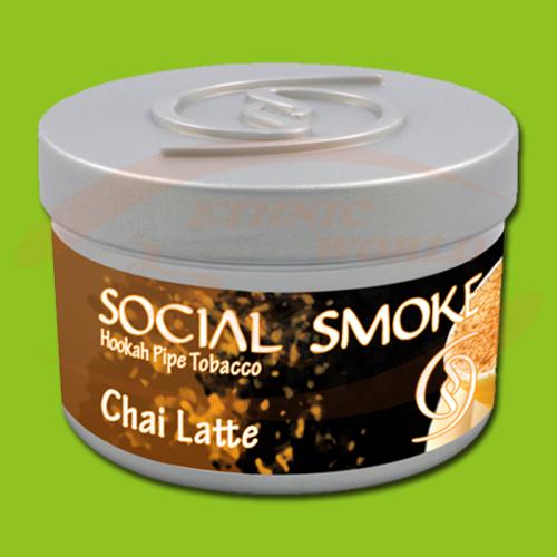 Social Smoke Chai Latte