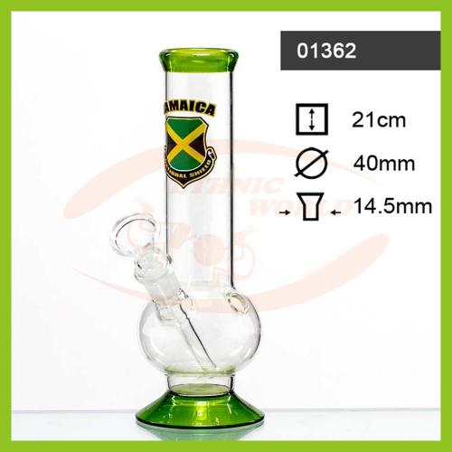 Glass Bong Jamaica (01362)