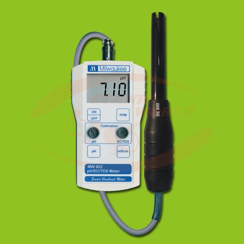 Milwaukee Portable pH/EC meter MW-802
