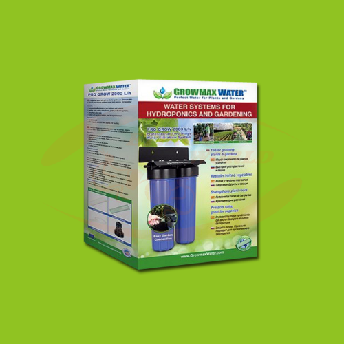 Growmax Water - PG Water Filter 2000 L/h