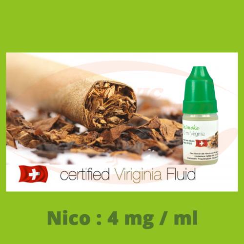 InSmoke Liquid 10 ml - 4mg - Virginia