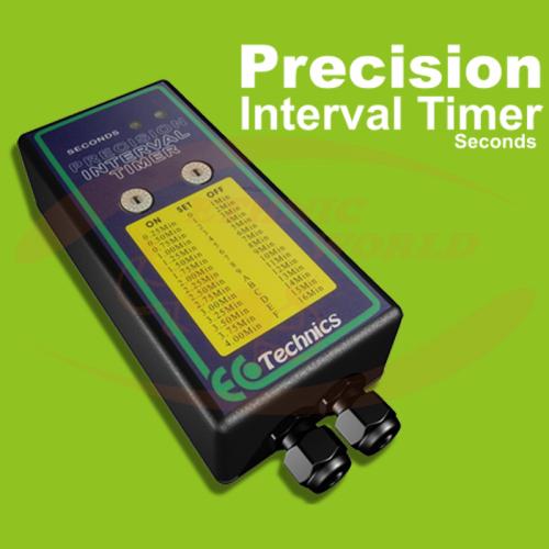 Ecotechnics Precision Interval Second Timer