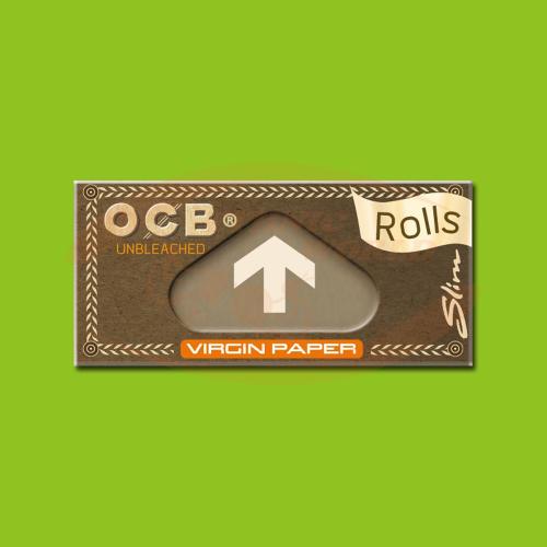 OCB Virgin Slim Rolls (Brown, Rolls)