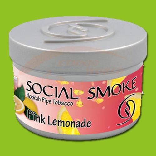 Social Smoke Pink Lemonade