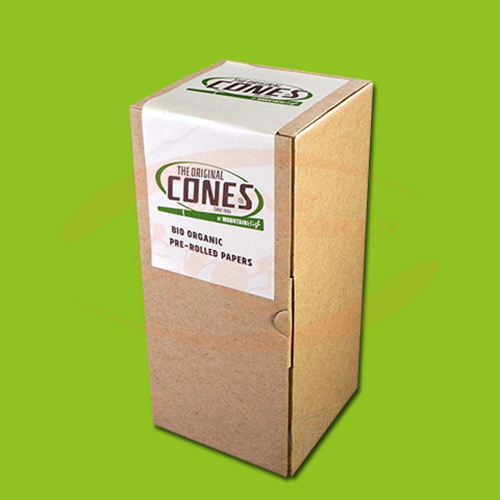 Cones 109 mm King Size Bio Organic HEMP