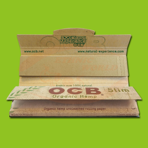 OCB Organic Hemp Slim +Filter (Long, Filter)