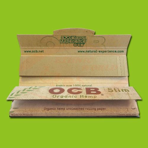 OCB Organic Hemp Slim +Filter (Long, Filter)