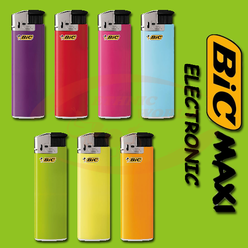 Bic - Electronic Lighter MAXI