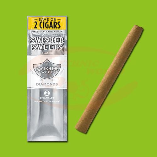 Swisher Sweets Cigarillos Diamonds (2 pc)