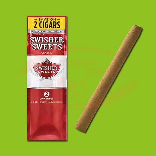 Swisher Sweets Cigarillos Original (2 pc)