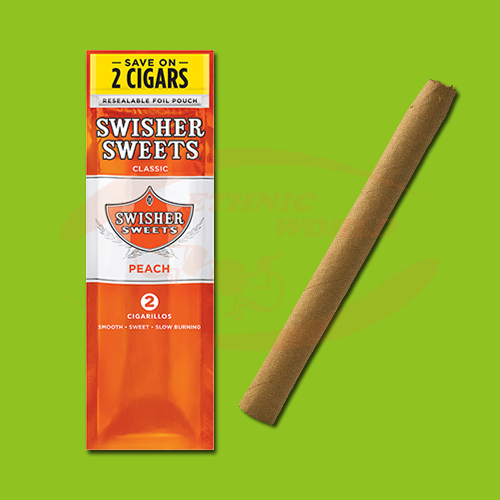 Swisher Sweets Cigarillos Peach (2 pc)