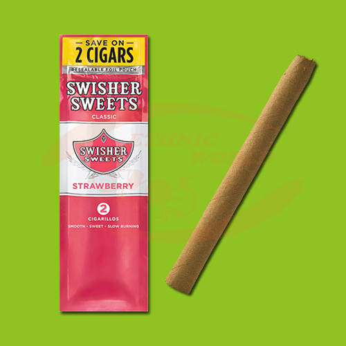 Swisher Sweets Cigarillos Strawberry (2 pc)