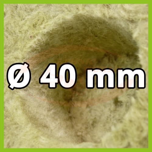 Rockwool 7.5cm ø 40mm